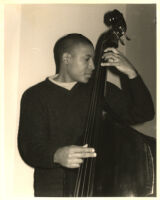 Unidentified double bass player [descriptive]