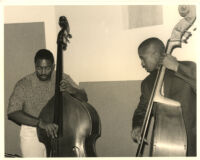 Unidentified double bassists [descriptive]