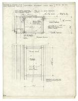 Architectural drawing, kitchen window light box