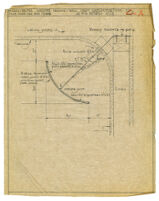 Architectural drawing, ceiling-wall light reflector