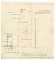 Solar Lighting Fixture Co. electrical drawing, undated