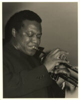 Wallace Roney playing the trumpet at the Catalina Bar & Grill in Hollywood, January 1997 [descriptive]
