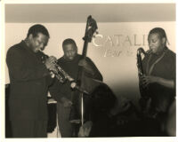 Wallace and Antoine Roney performing at the Catalina Bar & Grill in Hollywood, California, January 1997 [descriptive]