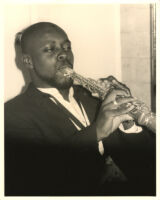 Unidentified soprano saxophone player [descriptive]