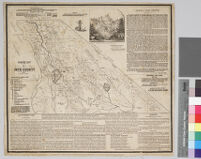Mining map of Inyo County