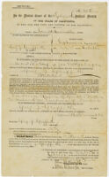 Griffith, Griffith J., naturalization certificate, 1877