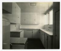 Strathmore Apartments, kitchen, Los Angeles, California, 1937