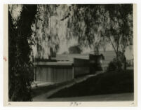 McIntosh House, front exterior, Los Angeles, California, 1939