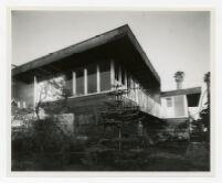 McIntosh House, balcony toward southwest, Los Angeles, California, 1939