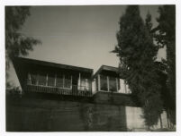 McIntosh House, view from west, Los Angeles, California, 1939