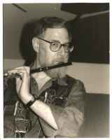 Lew Tabackin playing flute Los Angeles [descriptive]