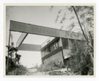Mosk House, view from garden looking southeast, Los Angeles, California, 1933