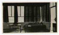 Mosk House, interior, Los Angeles, California, 1933