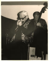 Toots Thielemans on harmonica, Los Angeles [descriptive]