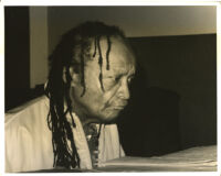 Cecil Taylor playing the piano in Los Angeles [descriptive]