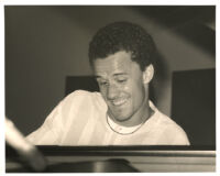 Jacky Terrasson playing piano in Los Angeles [descriptive]