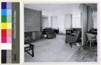 Mountain Home Air Force Base Housing, living room, Boise, Idaho, 1950-1960