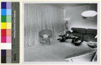 Mountain Home Air Force Base Housing, living area, Boise, Idaho, 1950-1960