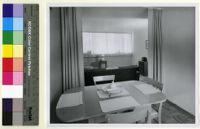Mountain Home Air Force Base Housing, dining room, Boise, Idaho, 1950-1960