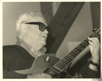 Toots Thielemans on guitar, Los Angeles [descriptive]