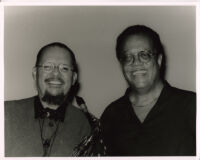 Cedar Walton with Jackie McLean in Los Angeles, October 1996 [descriptive]