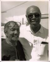 Gerald Wiggins and Buddy Collette in Los Angeles, June 1996 [descriptive]