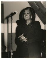 Ernestine Anderson singing in Los Angeles, November 1996 [descriptive]