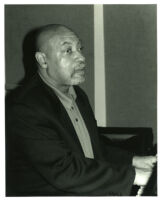 Kenny Barron playing piano in Los Angeles [descriptive]
