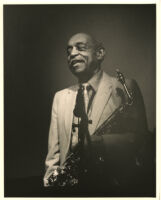 Benny Carter at the Jazz Bakery in Culver City, California, August 1995 [descriptive]