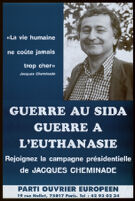 Guerre au sida guerre a l'euthanasie [inscribed]