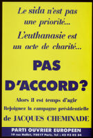 Pas d'accord? [inscribed]