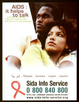 AIDS : it helps to talk [inscribed]