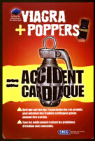 Viagra + Poppers = Accident Cardiaque [inscribed]
