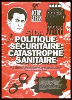 SIDA. Politique sécuritaire: catastophe sanitaire [inscribed]