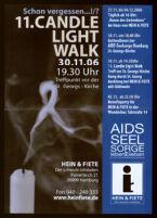 11. Candle Light Walk 30.11.06 19.30 Uhr: Treffpunkt vor der St. Georgs-Kirche [inscribed]