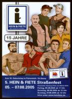 5. Hein & Fiete Strassenfest 05.-07.08.2005 [inscribed]