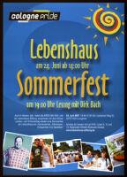 Lebenshaus Sommerfest [inscribed]