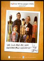 Kölner Wirte gegen AIDS [inscribed]