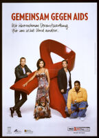 Gemeinsam gegen AIDS: Wir übernehmen Verantwortung; für uns selbst, und andere [inscribed]