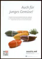 Auch für junges Gemüse! [Inscribed]