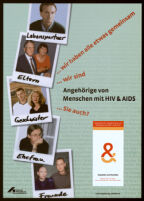 Angehörige von Menschen mit HIV & AIDS [inscribed]