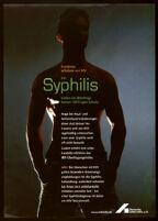 Kondome schützen vor HIV; bei Syphilis bieten sie allerdings keinen 100%igen Schutz [inscribed]
