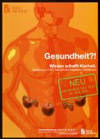 Gesundheit?!: Wissen schafft Klarheit. Beratung zu HIV/sexuell übertragbaren Infektionen [inscribed]