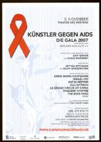 Künstler gegen AIDS: die Gala 2007 zugunsten der Berliner Aids-Hilfe e.V. [inscribed]