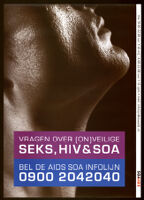 Vragen over (on)veilige seks, hiv & soa [inscribed]