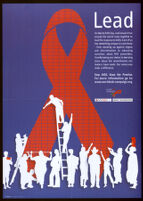 Lead: On World AIDS Day, individuats from around the world come together to lead the response to AlDS. Each of us has something unique to contribute from standing up against stigma and discrimination to educating ourselves about HIV prevention, from knowing our status to learning more about the commitments our leaders have made. Our voices can make a difference [inscribed]