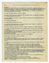 Specifications, carpentry, millwork, and accessories, undated, 2 of 5