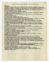 Specifications, carpentry, millwork, and accessories, undated, 3 of 5