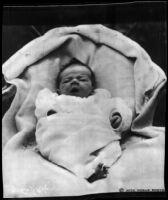 Infant Charles Augustus Lindbergh, Jr., 1930.