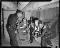American Legion Police Dept. Drill Team, 1936 CA State Convention.